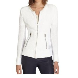 Iro White Amiya Knit Jacket